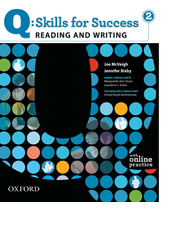 Q Skills for Success Reading Writing 2