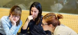 Teachers at a workshop in Castilla-La Mancha