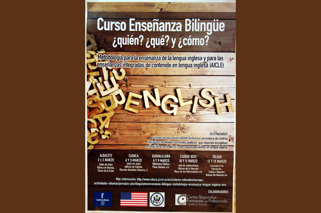 English language workshops in spain