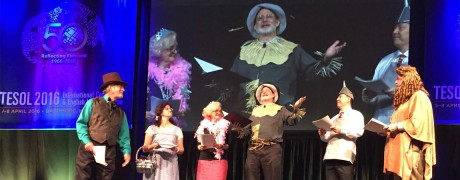 The Wizard of Oz goes to TESOL